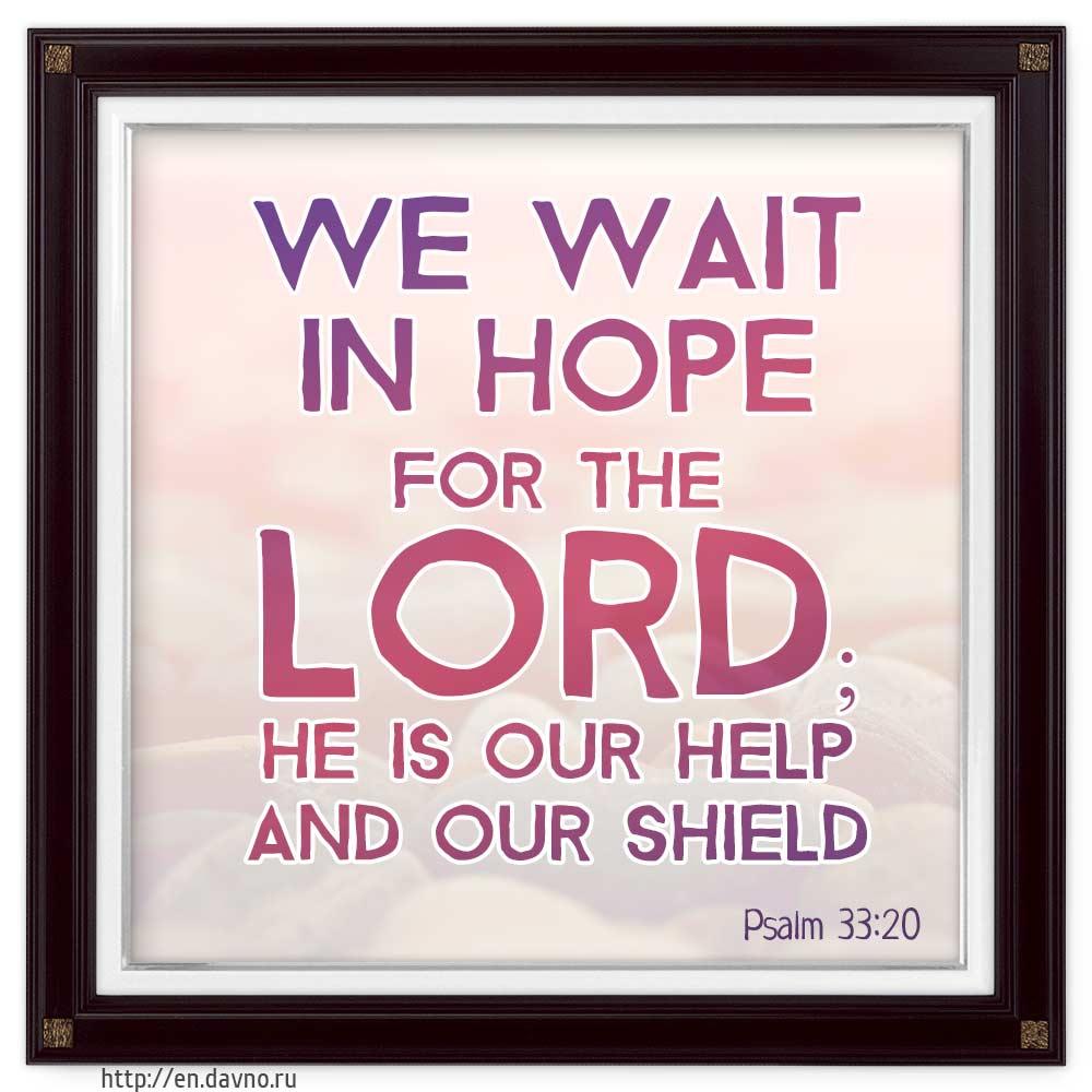 Psalm 33:20
