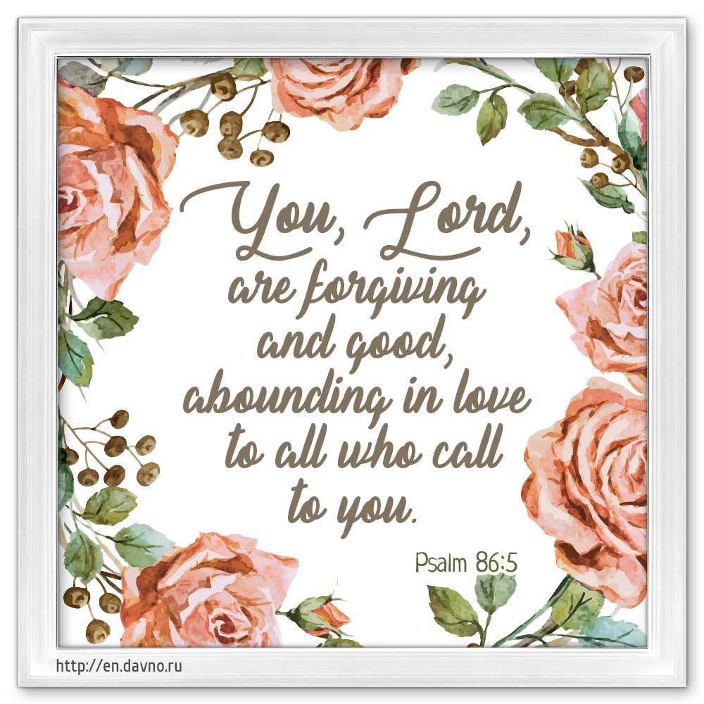 Psalm 86:5
