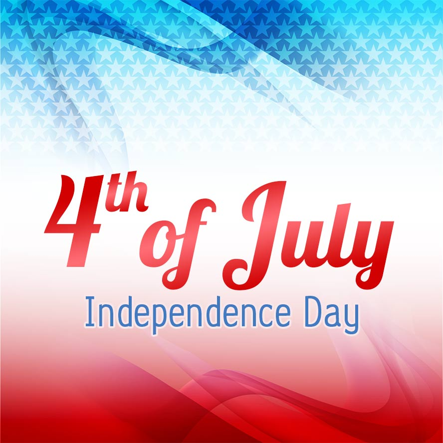 4th of July - Independence Day Free Greeting Card