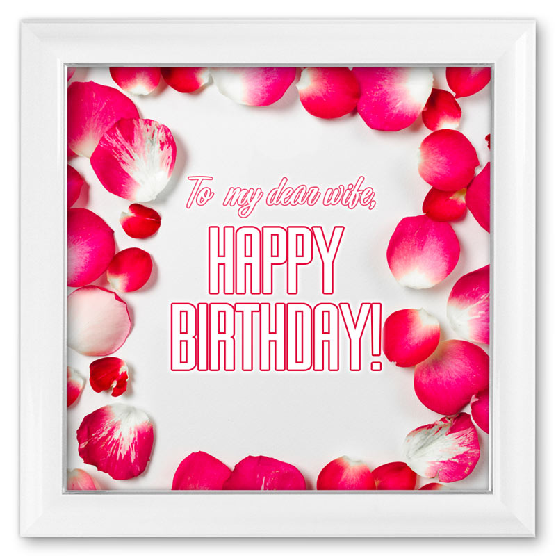 To My Dear Wife Happy Birthday Free Download Card 81 Category