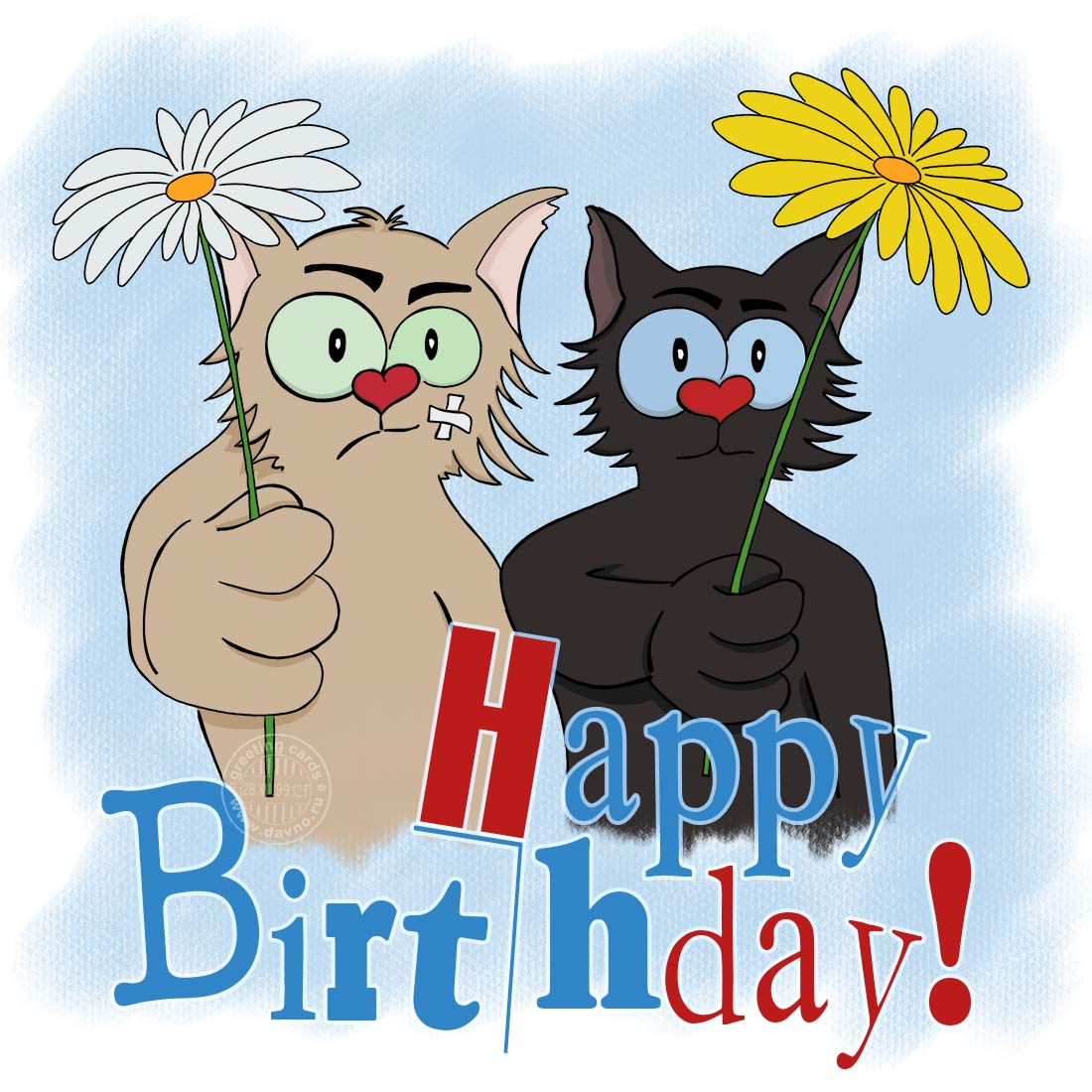 Funny Cats Free Download Card 8 Category Birthday Cards