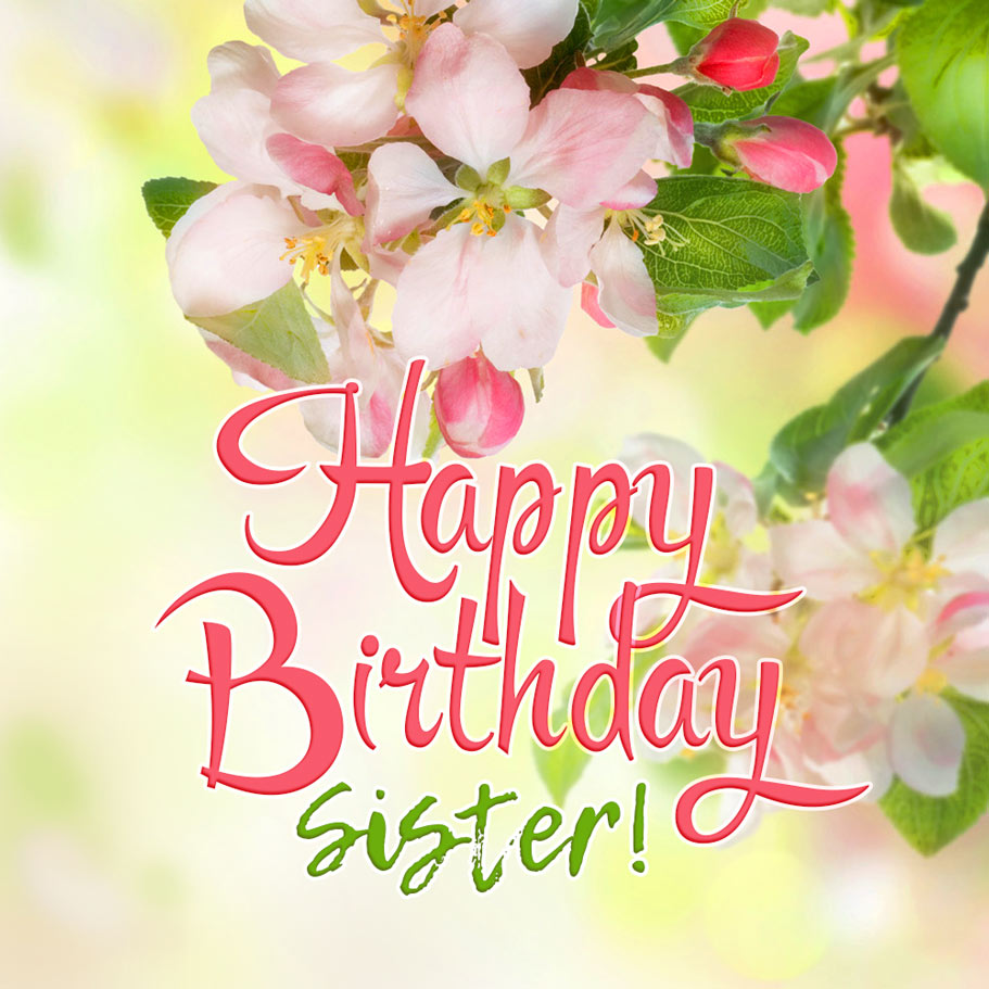 Happy Birthday Sister Free Download Card 207 Category Birthday