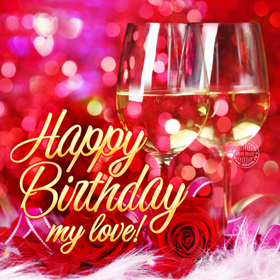 Happy Birthday My Love Download On Davno