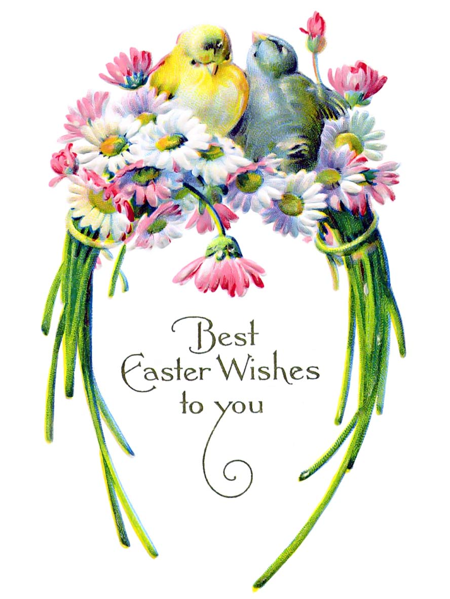 Best Easter wishes to you!