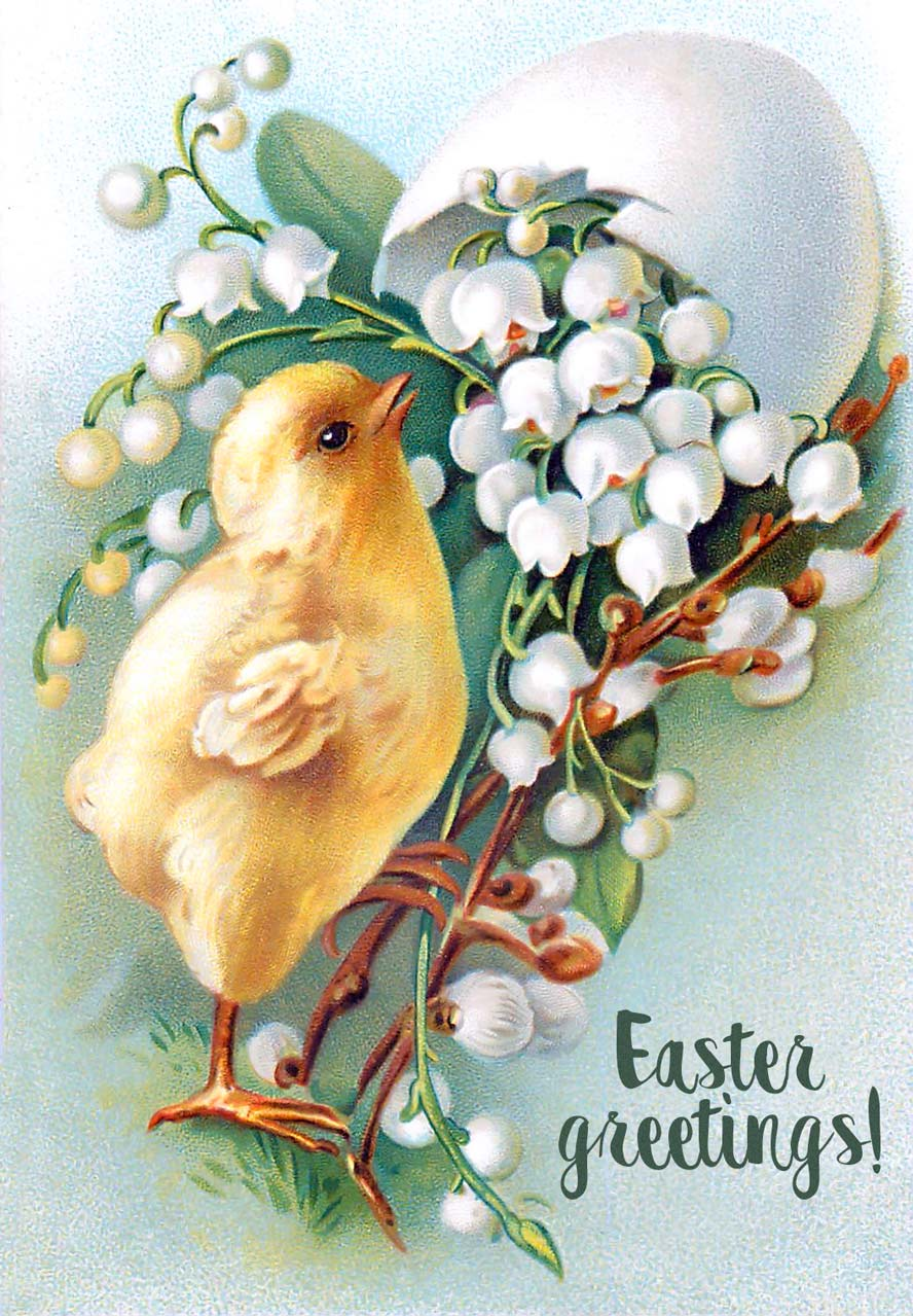 Easter Greetings Card 295 Category Happy Easter Cards April