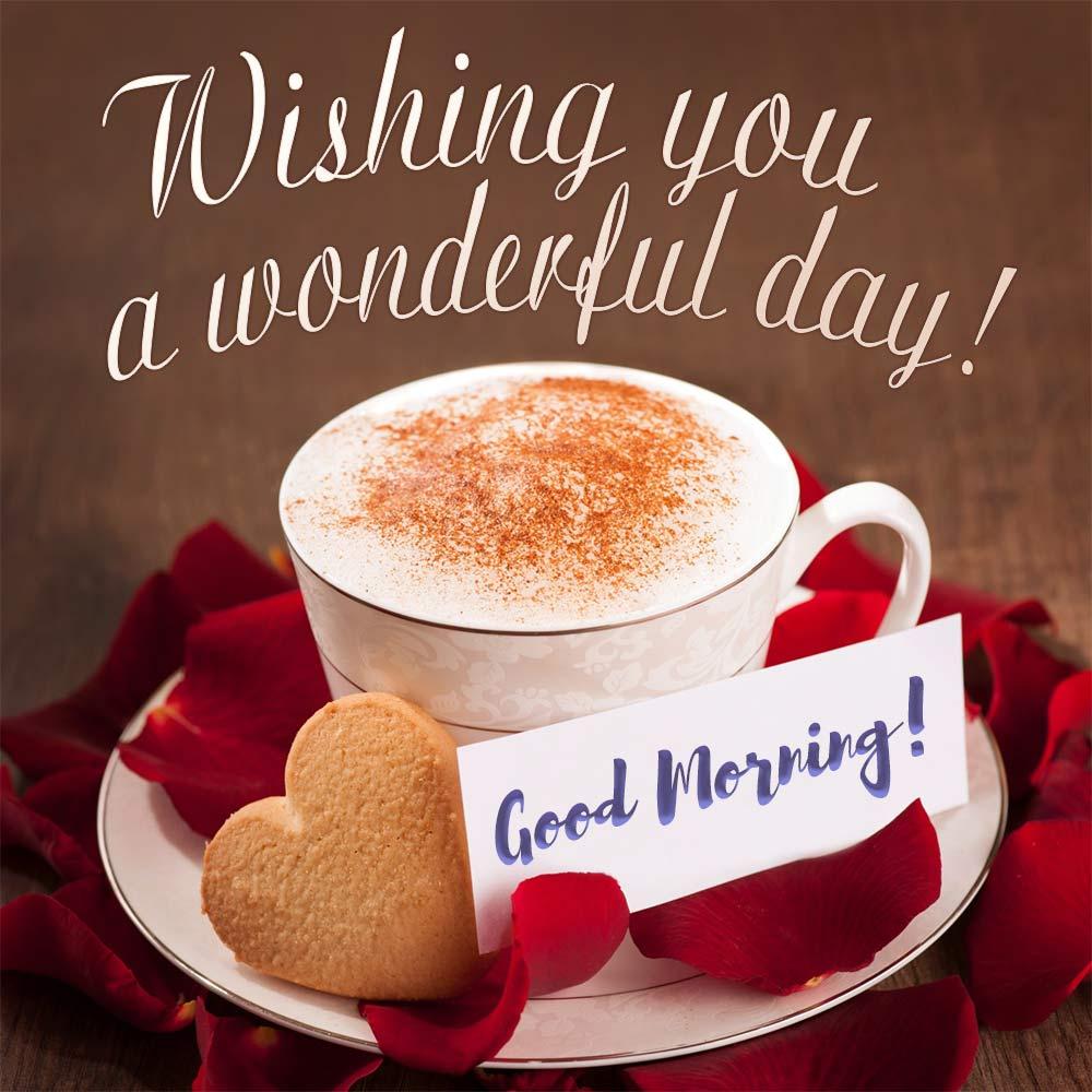 Wishing you a wonderful day!