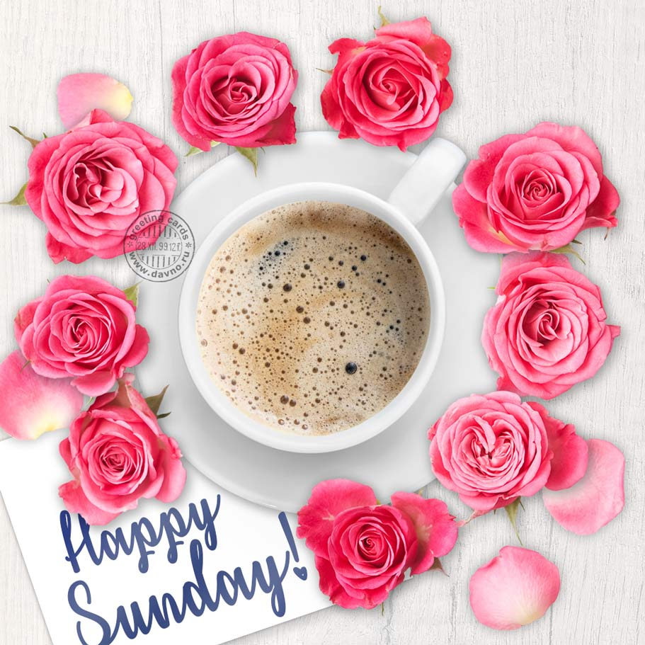Happy Sunday Card