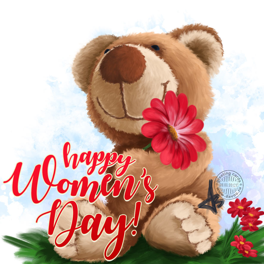 All best wishes on International Women's Day. Keep shining and smiling always!