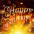 Wishing you a beautiful holiday! Happy Birthday!