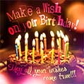 Make a Wish on your Birthday!