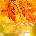 Good morning October! Autumn is a second spring when every leaf is a flower.