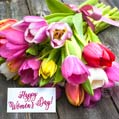 International Women's Day Card - Beautiful Flowers