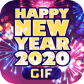 Happy New Year 2020 GIF Images