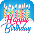 Happy Birthday Cards App by Davno Greeting Cards