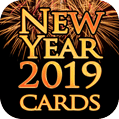 New Year 2019 Greeting Cards and GIFs